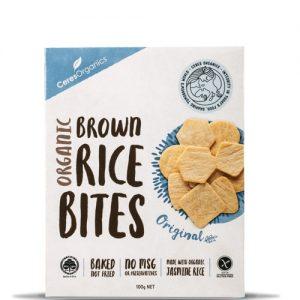Ceres Organics Rice Bites Sea Salt 100g
