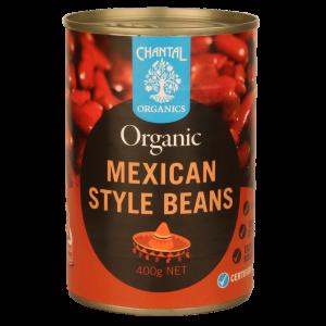 Chantal Organic Mexican Style Beans 400g