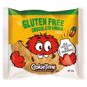 Cookie Time Gluten Free Chocolate Chunk Biscuit 60g