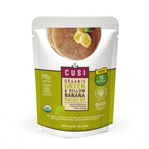 Cusi Green & Yellow Banana Pancake Mix 200g