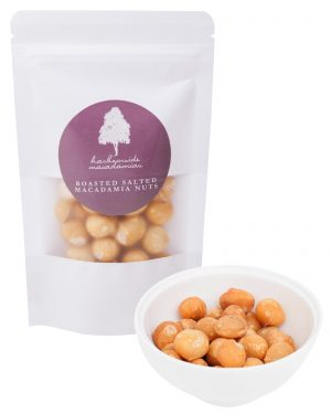 Harbourside Macadamias Roasted Salted 100g