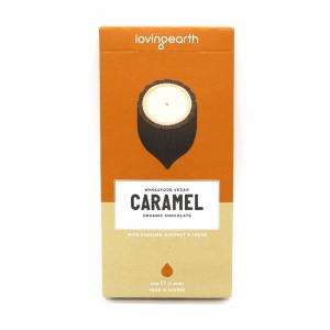 Loving Earth Caramel Chocolate 80g