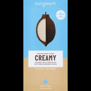 Loving Earth Creamy Coconut Milk Chocolate 80g