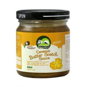 Natures Charm Coconut Butter Scotch Sauce 200g