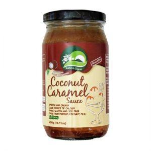 Natures Charm Coconut Caramel Sauce 400g