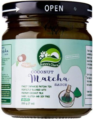 Natures Charm Matcha Coconut Sauce 200g