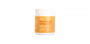 Nothing Naughty Pure Collagen & Vit C - Valencia Orange 150g