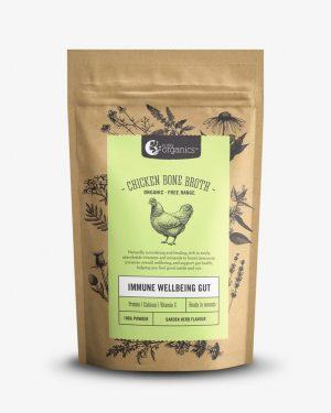 Nutra Organics Chicken Bone Broth Garden Herb 100g