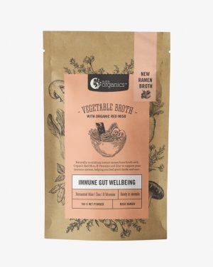 Nutra Organics Vegetable Broth Miso Ramen 100g