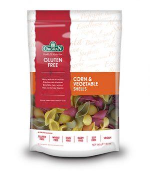 Orgran Corn & Vegetable Shells 250g