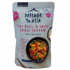 Passage to Asia Thai Basil Sweet Chilli Chicken 200g
