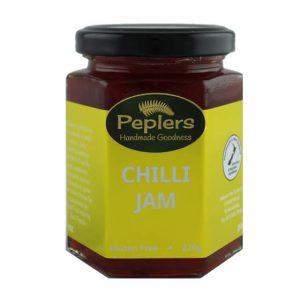 Peplers Chilli Jam 220g