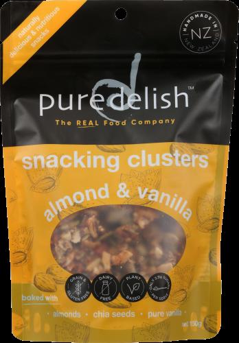 Pure Delish Snacking Clusters Almond & Vanilla 120g