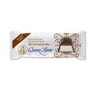 Queen Anne Dark Chocolate Caramel & Vanilla Marshmallow Bar 55g