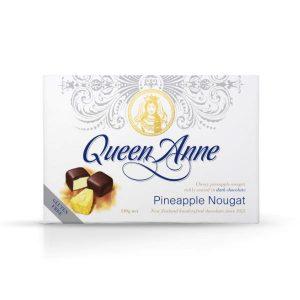 Queen Anne Dark Chocolate Pineapple Nougat 140g