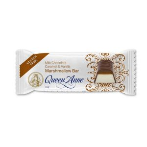 Queen Anne Milk Chocolate Caramel & Vanilla Marshmallow Bar 55g