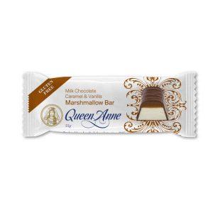Queen Anne Milk Chocolate Caramel & Vanilla Marshmallow Bar 55g