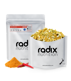 Radix Nutrition Keto - Indian Style Free-Range Chicken Curry 102g