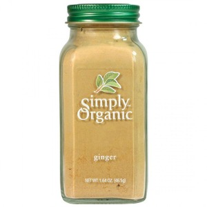 Simply Organic - Ginger 46g