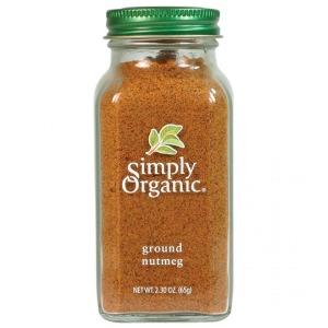 Simply Organic - Ground Nutmeg 65g