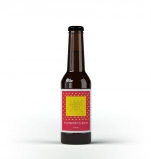 Six Barrel Soda Raspberry & Lemon 330ml