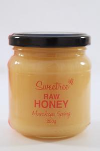 Sweetree Raw Honey - Marokopa Spring 250g
