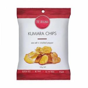 The Original Kumara Chips - Sea Salt & Cracked Pepper 100g
