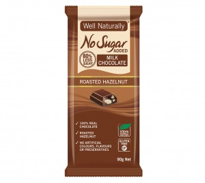 Well Naturally Chocolate Roasted Hazelnut 90g
