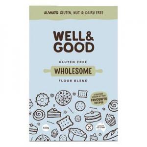 Well & Good GF Wholesome Flour Blend 400g