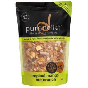 Pure Delish Tropical Mango & Nut Crunch 375g