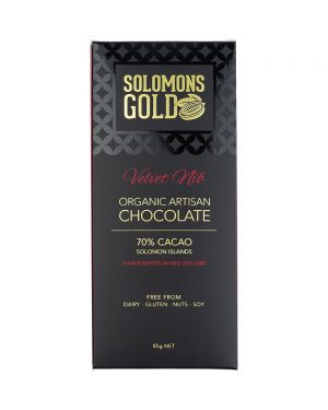 Solomons Gold Velvet Nib Chocolate 85g
