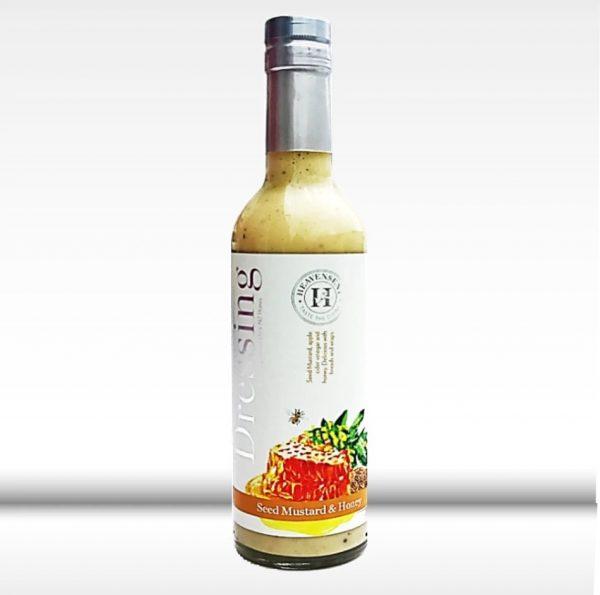 Heavensent Seed Mustard and Honey Dressing 375ml