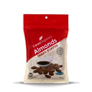 Ceres Organics Almonds Tamari Roasted 150g