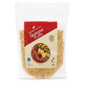 Ceres Organics Quinoa Puffs 150g