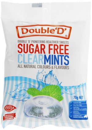 Double Ds Sugar Free Clear Mints 70g