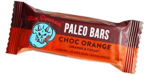 Blue Dinosaur Paleo Bar - Chocolate Orange 45g