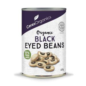 Ceres Organics Black Eyed Beans 400g