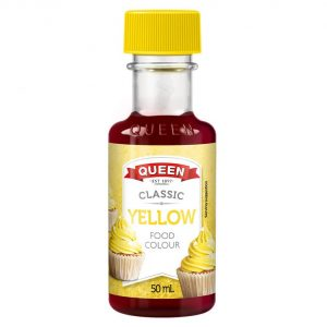 Queen Food Colour Yellow 50ml