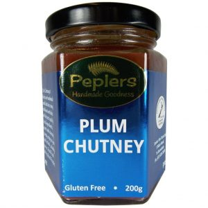 Peplers Plum Chutney 200g