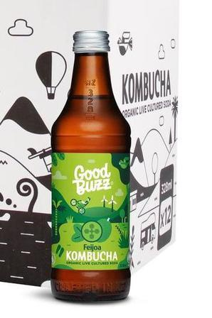 Good Buzz Feijoa Kombucha 328ml