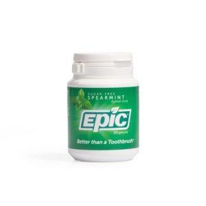 Epic Spearmint Chewing Gum Bottle 50 Pieces
