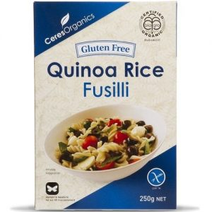 Ceres Organics Quinoa Rice Fusilli 250g