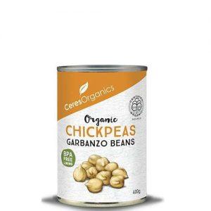 Ceres Organics Chickpeas (Garbanzo) 400g