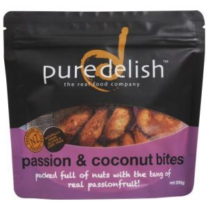 Pure Delish Passion and Coconut Bites 200g
