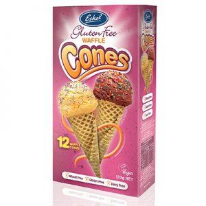 Eskal Ice Cream Waffle Cones 132g