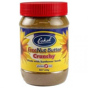 Eskal FreeNut Butter Crunchy 450g