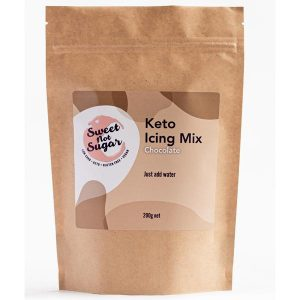 Sweet Not Sugar - Keto Icing Mix Chocolate 200g
