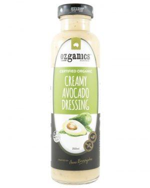 Ozganics Creamy Avocado Dressing 350g