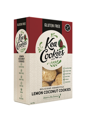 Kea Cookies Lemon Coconut