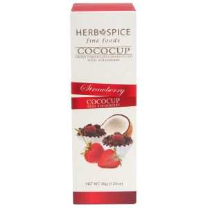 Herb & Spice Mill Strawberry CocoCups 35g